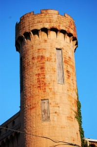 One of the Towers on Castle Hall in Walcott