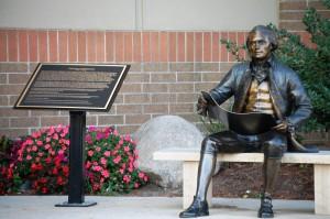 Thomas Jefferson Statue at Coral Ridge Mall