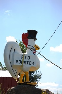 Red Rooster (looks white to me) - Red Rooster Collectibles Eldon, IA