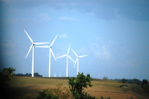 Wind Turbines of the Rolling Hills Wind Farm near Adair, IA
