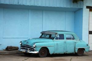 Old Car - Nebraska City, Nebraska