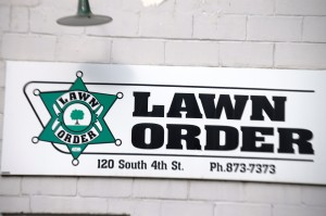 Great Name for a Lawn Care Business - Lawn Order