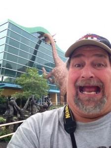 Giant Dinosaur at Indianapolis Children's Museum