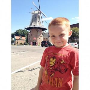 Grandson Landen in Pella