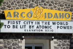 Arco City Hall - Arco, Idaho - First City in the world to be lit by Atomic Power