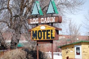 Log Cabin Motel - Ashton, Idaho