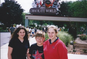 Hershey's Chocolate World in Hershey, PA June 1998