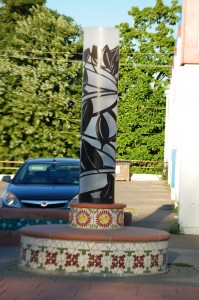 One of the Pillars along 24th Street