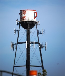 Sapp Brothers Water Tower in Council Bluffs, IA