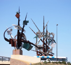 Odyssey by Albert Paley, Council Bluffs, IA