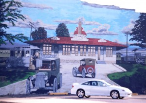 Old Chillicothe Train Station Mural