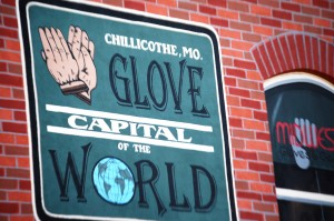 Part of Window in Time -Glove Capital of the World