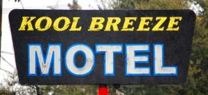 Kool Breeze Motel in Irving, Texas