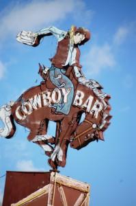 Cowboy Bar - Jackson Hole, Wyoming