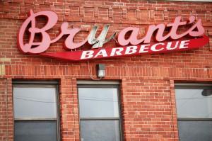 Bryant's Barbecue - Kansas City, Missouri