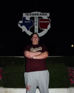 Solomon in two states - Texas and Arkansas, Texarkana, Texas June 2007