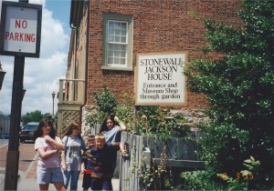 Stonewall Jackson House in Lexington, VA