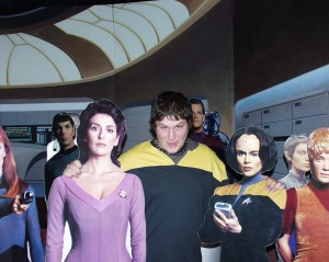 "A StarStruck ""Starship Sol"" with some new pals in Vulcan, Alberta Sept. 2007"
