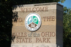 Falls of the Ohio State Park in Clarksville, IN