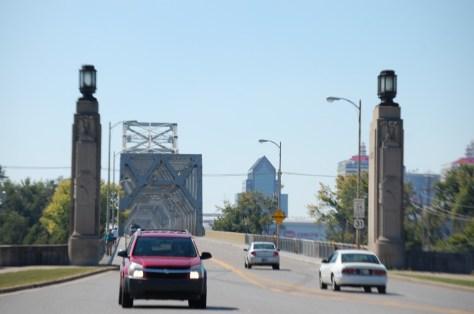 Back to Kentucky over the bridge