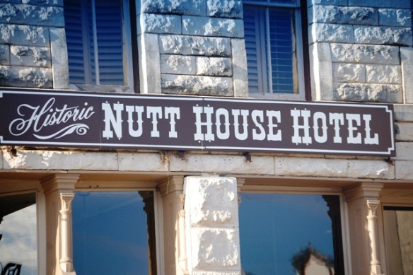 The Nutt House Hotel in Granbury Square, one of the locations covered in Tui Snider's book.