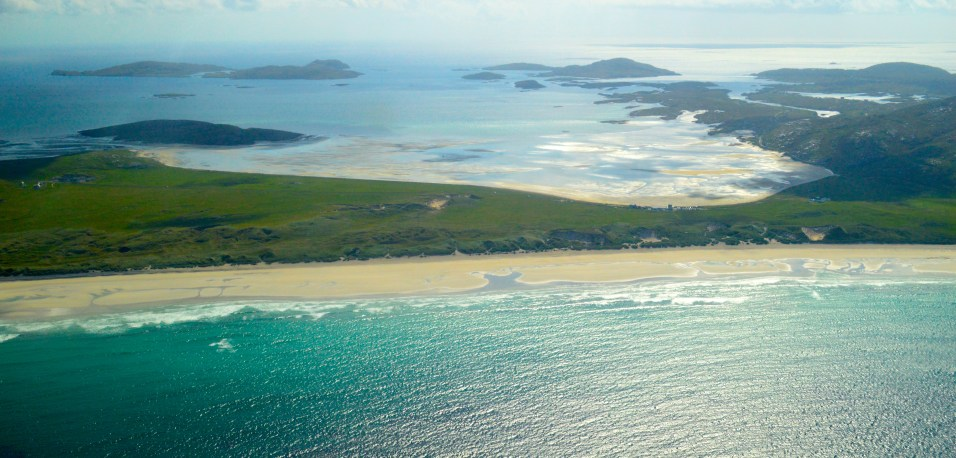 Barra, taken from the plane