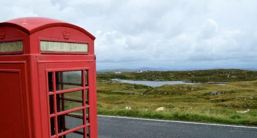 Barra, telephone box