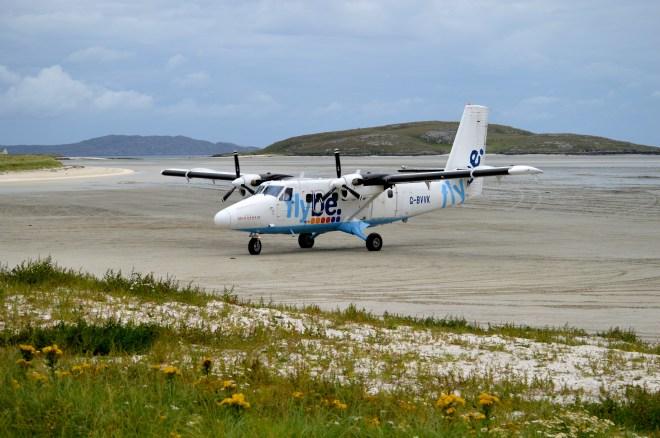 Barra, beach landing