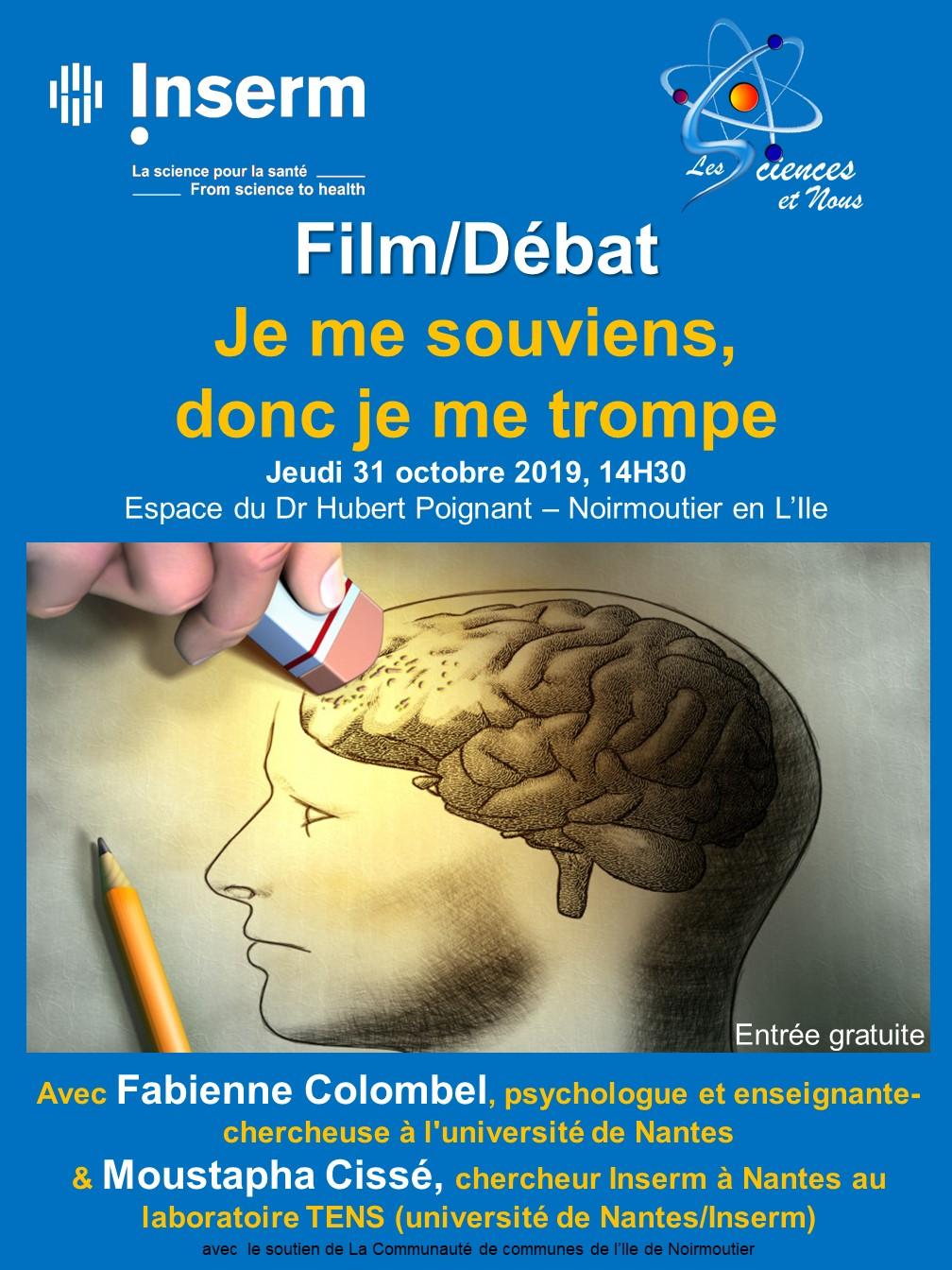 Je Me Souviens Donc Je Me Trompe : souviens, trompe, Octobre, 14h30, Souviens,, Trompe, Sciences