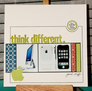 Think different 1