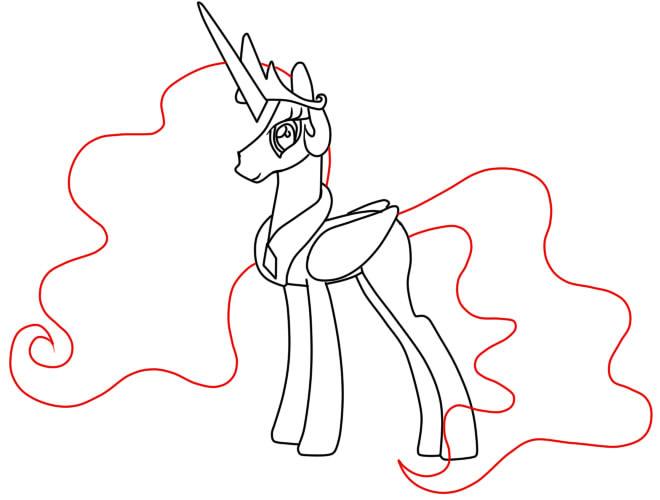 7fe940ce2f5 Kuidas tõmmata poni printsess. Kuidas juhtida printsessi poni