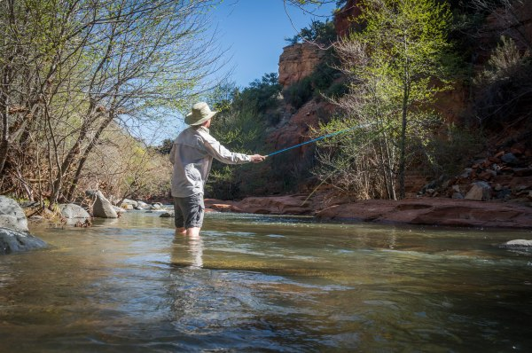 Clear Creek Az Fishing Location - Year of Clean Water