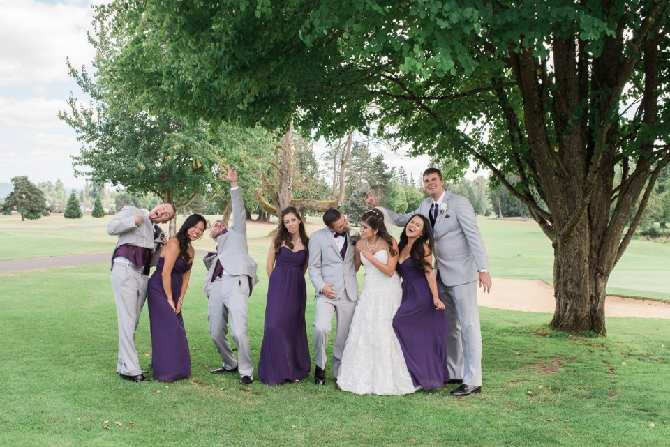 high cedars golf course wedding photos