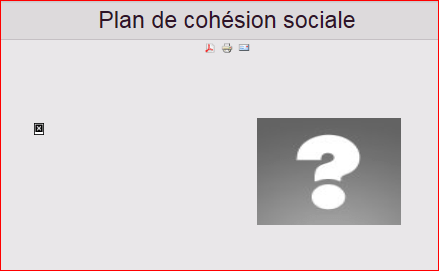 le-plan-de-cohesion-sociale-en-question