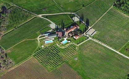Tuscany: Aerial View