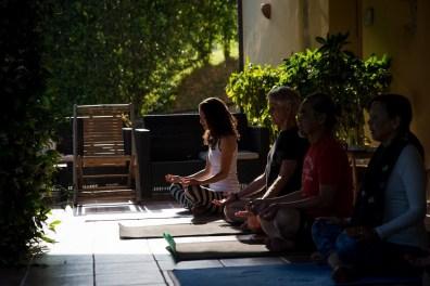Meditation in Italy