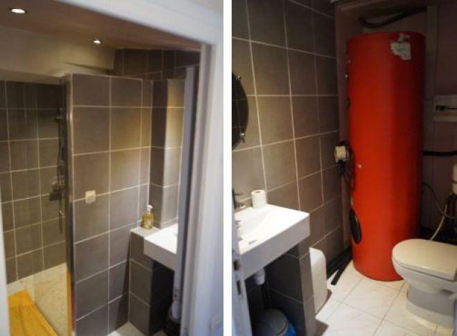salle d'eau et wc complèmentaires