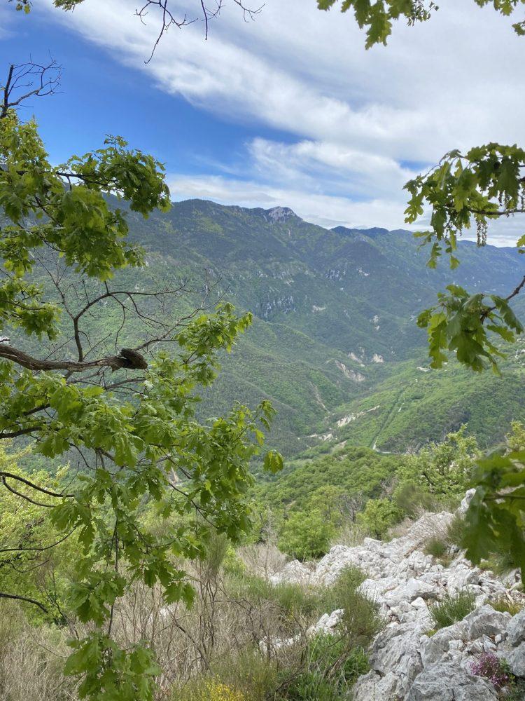 randonnée du 15 mai 2021 de Saint Ribert à Gréolières les neiges