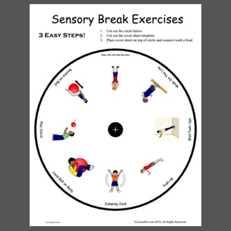 Sensory Break Exercises