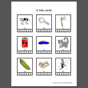 Tally Cards