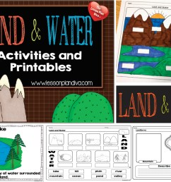 Landforms and Bodies of Water FREEBIE! - The Lesson Plan Diva [ 2053 x 2861 Pixel ]