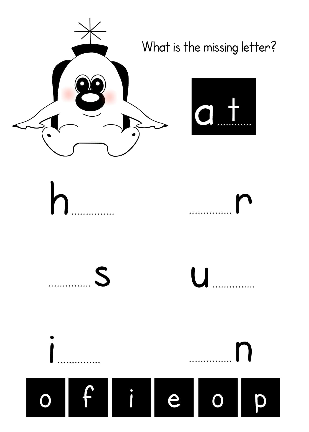 Worksheets To Reinforce Two Letter Sight Words 4 7 Years