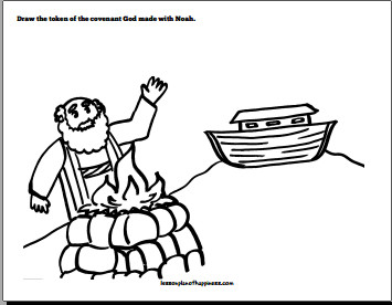 » Noah and the Ark Lesson Plan of Happiness