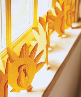 turkey garland