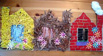 Three Little Pigs House Lesson Plans