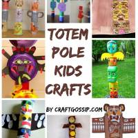 8 Amazing Totem Pole Crafts For Kids