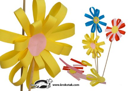 how to make spring from paper