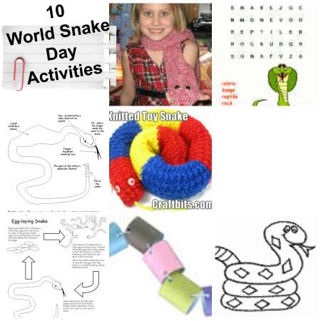 world-snake-day-activities