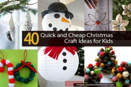 40 Kids Craft Roundup