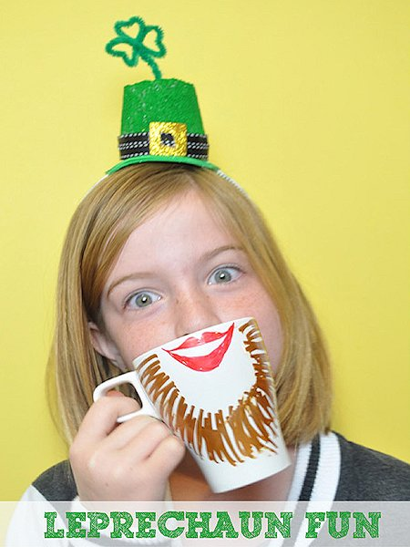 Leprechaun Headband Craft